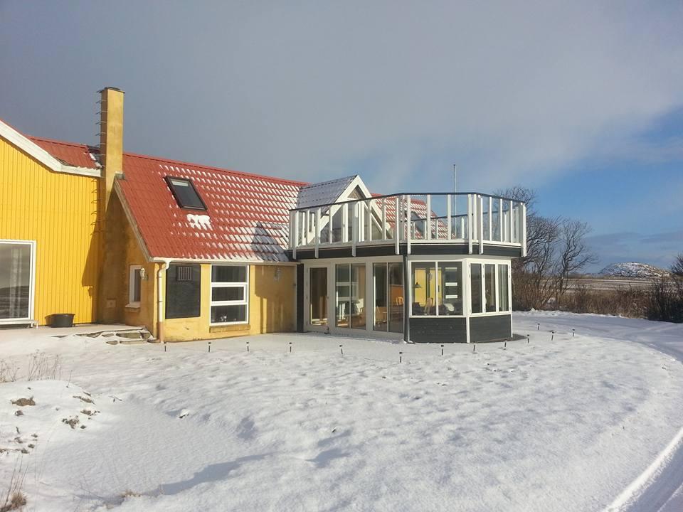 Sommerhuset i Vinterdress
